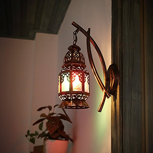 Bohemia Bar Wall Lamp Originality Turkey Restaurant Cafe Inn Color Aisle Art Wall Light 250130410Mm Outdoor Kids Living Room Bedroom Wedding Birthday Party Gift