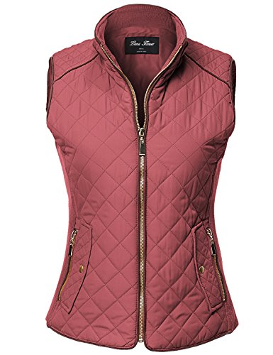 Quilted Sleeveless Vest - 8