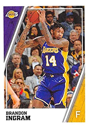 d0f70a6def4 2018-19 Panini NBA Stickers Collection #277 Brandon Ingram Los Angeles  Lakers Official Basketball