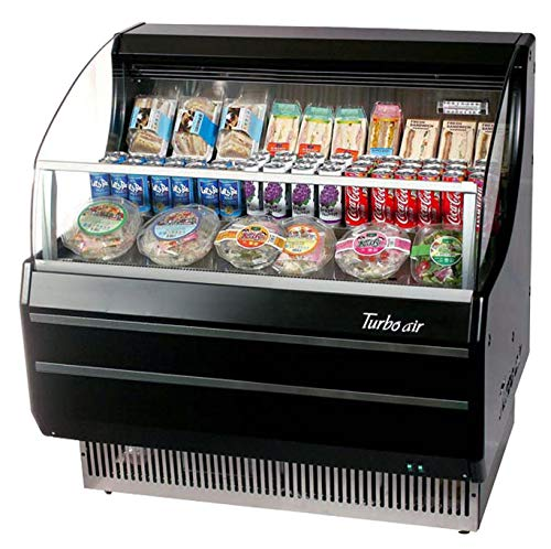 Beverage Air Refrigerated Display Case - Turbo Tom-40SB Open Front Display Merchandiser, Refrigerated, Horizontal, 39
