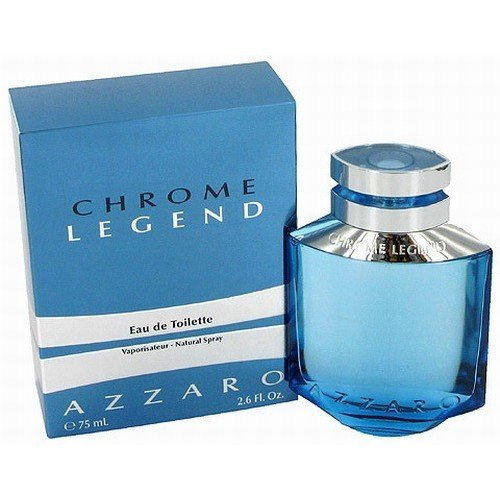 Azzaro Chrome Legend Eau De Toilette, 1,4 унции