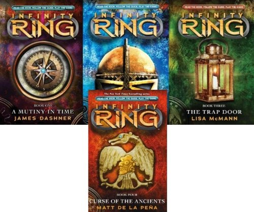 - Infinity Ring 4 Book Collection 1-4 (A Mutiny in Time; Divide and Conquer; The Trap Door; Curse of the Ancients)