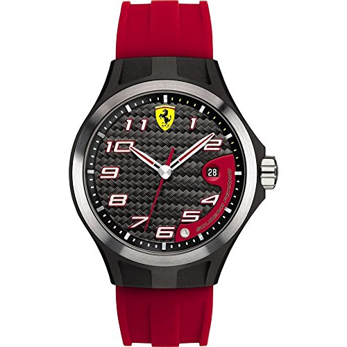 Scuderia Ferrari Gents SF102 'Lap Time' Red and Black Watch 0830014