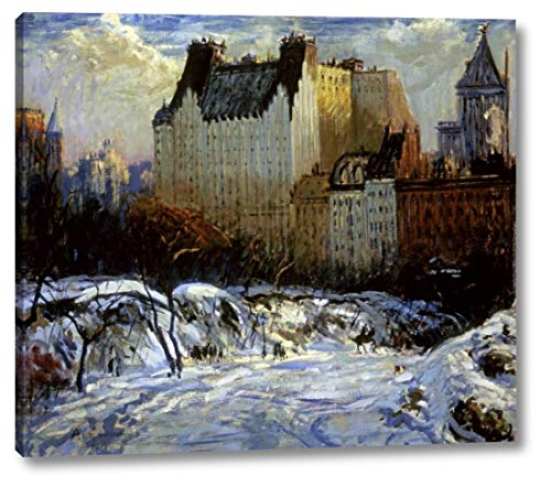 A View of The Plaza from Central Park by Arthur Clifton Goodwin - 24