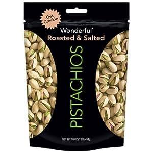 amazoncom wonderful shelled pistachios 16ounce
