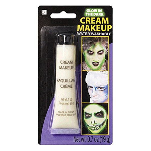 [Party Ready Fashion Cream Makeup Costume Accessory, Light Green, 0 7 Ounce Tube] (Body Paint Costumes For Halloween)