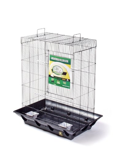Prevue Pet Products Clean Life Flight Cage, Black, My Pet Supplies