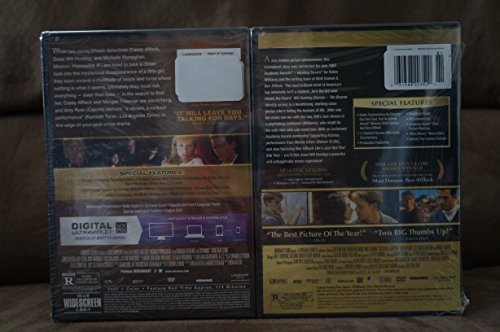 GOOD WILL HUNTING / GONE BABY GONE DVD Double Pack Set (BOTH Awesome DVD Movies in 1 Set Together) Robin Willaims & Ben Affleck