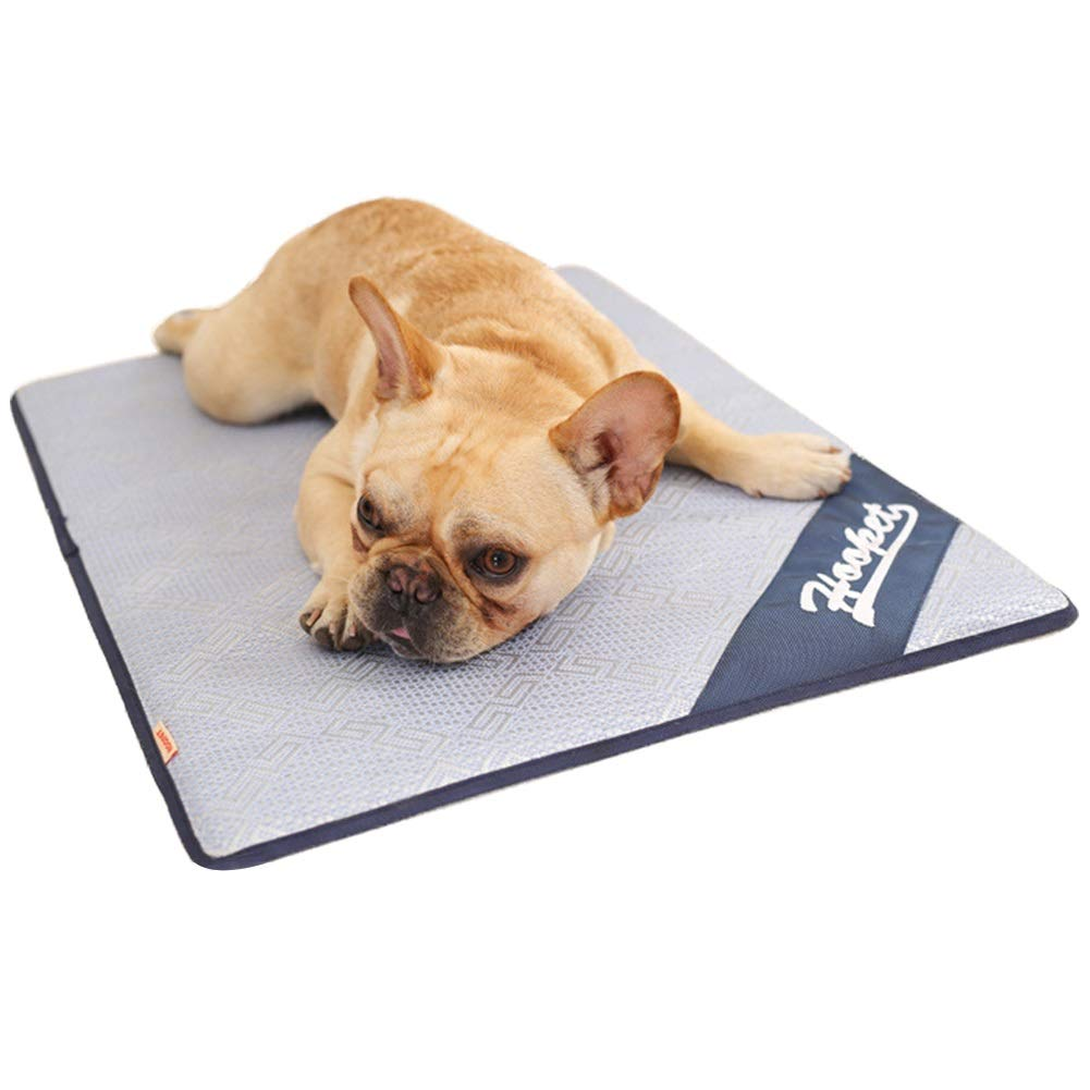Dora Bridal Pets Pet Dog Self Cooling Mat Pad,Chillz Pressure Activated Pet Cooling Gel Pad,Machine Washable Summer Sleep Cooling Breathable Mat/Pad Easy to Clean