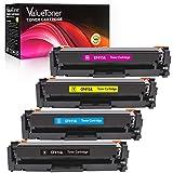 Valuetoner Compatible Toner Cartridges for HP 410A CF410A CF411A CF412A CF413A for HP LaserJet Pro MFP M477fnw M477fdn M477fdw M452dn M452nw M452dw