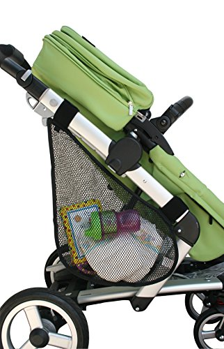 J.L. Childress Side Sling, Stroller Mesh Cargo Net and Organizer