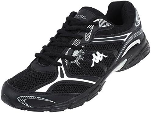 Kappa Papino - Zapatillas de Running para Hombre, Color Negro/Plata, Talla 37: Amazon.es: Zapatos y complementos