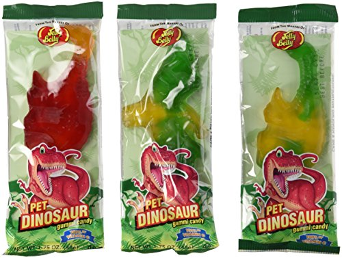 Jelly Belly 1.75 Oz. Jelly Belly Gummi Pet Dinosaur Pack of 3