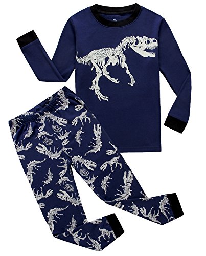 IF Pajamas Dinosaur Baby Boys Pajamas Sets 100% Cotton Clothes Infant Kids 12-18 Months
