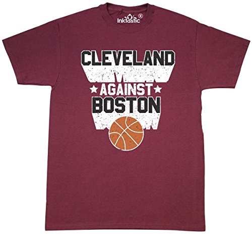 Inktastic - Cleveland Against Boston with T-Shirt XXX-Large Maroon 2d5ae Cheers Boston T-shirt