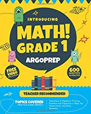 Introducing MATH! Grade 1 by ArgoPrep: 600+ Practice Questions + Comprehensive Overview of Each Topic + Detailed Video Expla