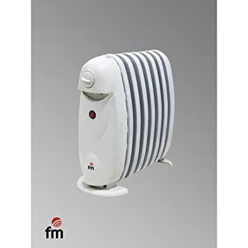 MINI RADIADOR ACEITE FM 800w 7 Elem ALTO: 39CMS