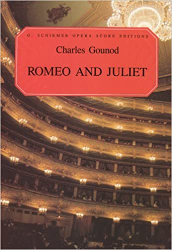 Romeo And Juliet (Opera Score, French and English) (Vocal