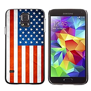 Shell-Star ( National Flag Series-USA ) Snap On Hard Protective Case For Samsung Galaxy S5 V SM-G900