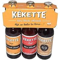 Tripack Kekette (blonde+red+ambrée)