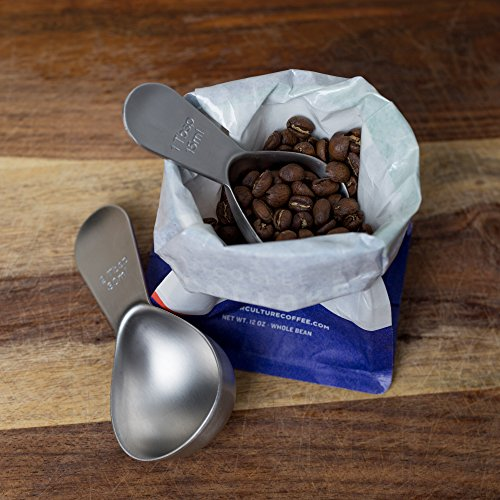Coletti COL105 Coffee Scoop, 1 Tablespoon & 2 Tablespoon Set by Coletti (Image #7)
