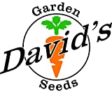 David's Garden Seeds Popcorn Pennsylvania Buttered Flavored 41620CQ (White) 100 Organic Heirloom Seeds
