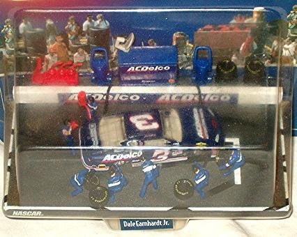 Nascar Pit (Winner's Circle Pitrow Series Dale Earnhardt Jr. ACDelco #3 DieCast)