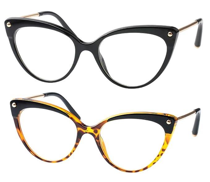 Amazon.com: SOOLALA - Gafas de lectura para mujer, diseño de ...