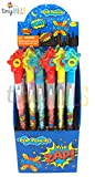 24 Pcs Superhero Text Multi Point Pencils