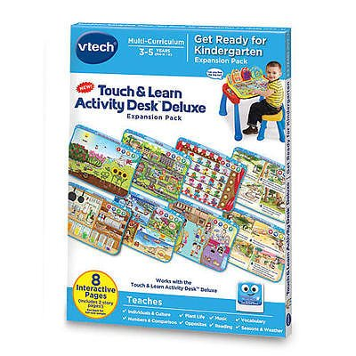 Vtech Touch and Learn Get Ready For Kindergarten Activity Desk Deluxe
