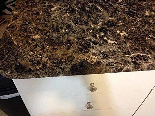 EzFaux Decor Countertop Paint? No! Peel and Stick Granite NO PAINT Counter Top Film Transformation. 36