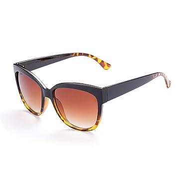 e745d7270d5 Hmilydyk Lunettes de soleil pour femme Hipster Mode coloré Verres miroir  cerclé Inspiration vintage Eyewear UV400