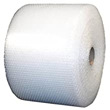 """USPACKSHOP 175' 3/16"""" Small Bubble Cushioning Wrap Perforated Every 12"""", 12"""" Wide"""