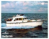 1981 AMF Hatteras 53 Motor Yacht Power Boat Factory