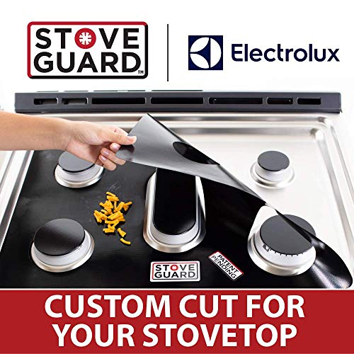 Electrolux Range Accessories - Electrolux Stove Protectors - Stove Top Protector for Electrolux Gas Ranges - Ultra Thin, Easy Clean Stove Liner