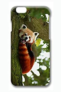 Brian114 6 Case, iPhone 6 Case - 3D Fashion Print Drop Protection Case for iPhone 6 Red Panda On Tree Scratch Resistant Case for iPhone 6 4.7 Inches