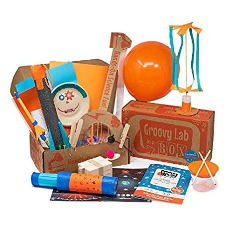 Groovy Lab in a Box | Award Winning Subscription STEM Box for Kids Ages 8+