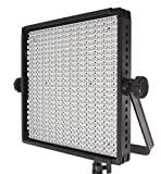 StudioPRO 600 S-600B Bi Color LED Photography Lighting Panel, Continuous Lighting Panel, Photo Studio Video Film Lighting Panel (Barndoors are sold separately)