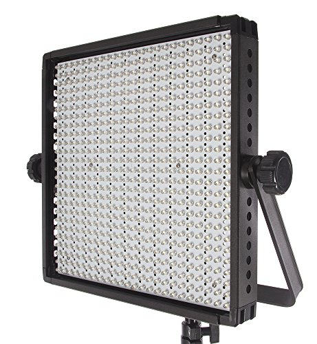 Fovitec  StudioPRO - 1x Bi Color 600 LED Panel - [Continuous][Adjustable Lighting][V-Lock Compatible][Stands Sold Separately] by Fovitec