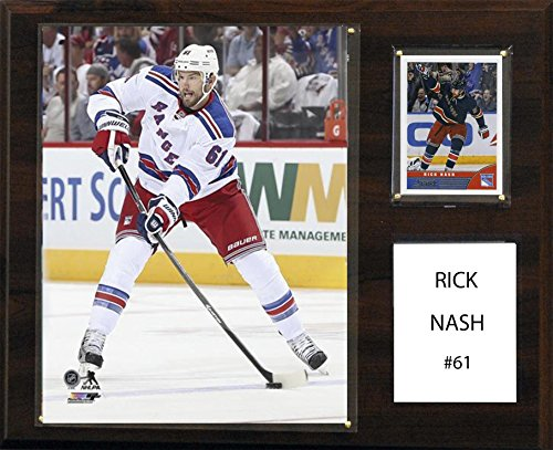 C&I Collectables NHL New York Rangers Rick Nash 12 x 15-Inch Player Plaque