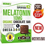 Natural Melatonin - Extra Strength Melatonin - Melatonin Supplement - Pure Melatonin Sleep - Melatonin 10mg - Natural Melatonin Supplement