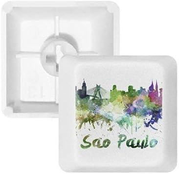 DIYthinker Sao Paula Brasil Ciudad de la Acuarela PBT Nombres ...