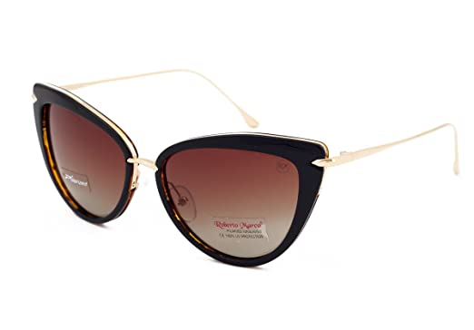 7f81f1718d9 Genuine Roberto Marco Polarized Sunglasses for Women Drivers Brown frame