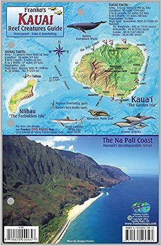 Kauai Hawaii Map & Coral Reef Creatures Guide Franko Maps Laminated on molokai map, maui map, marshall islands hawaii map, kapaa hawaii map, kailua hawaii map, lanai map, kona hawaii map, kaunaoa bay hawaii map, oahu map, hilo hawaii map, lihue map, kahului hawaii map, hawaii road map, niihau hawaii map, poipu map, honolulu hawaii map, hawaii volcanoes national park map, nawiliwili hawaii map, anahulu river hawaii map, kalaupapa hawaii map,