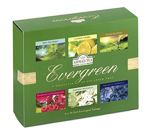 - Ahmad Tea Evergreen Tea, 60 Count