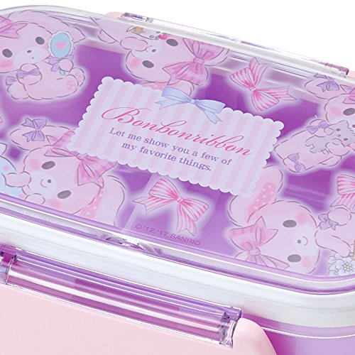 Sanrio furiously ribbon two-stage lunch case DXS cake From Japan New
