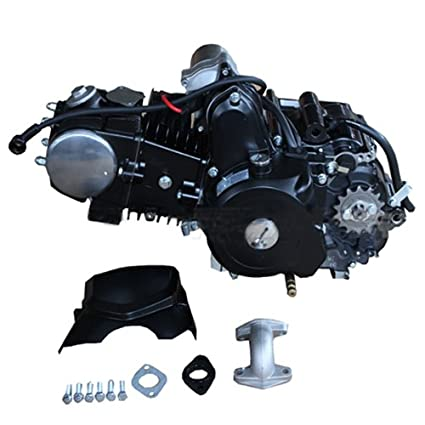 125cc 4-stroke Engine with Automatic Transmission w/Reverse, Electric Start  for 50cc 90cc 110cc 125cc ATVs & Go Karts Coolster, Taotao, Roketa,
