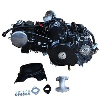 125cc 4-stroke Engine with Automatic Transmission w/Reverse, Electric Start  for 50cc 90cc 110cc 125cc ATVs & Go Karts Coolster, Taotao, Roketa,