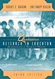 img - for Qualitative Research for Education: An Introduction to Theory and Methods (3rd Edition) book / textbook / text book
