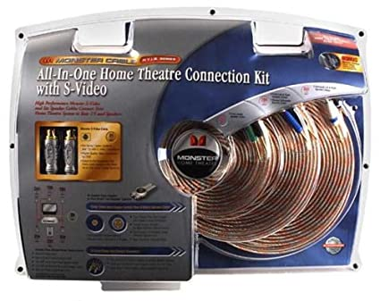 Amazon.com: Monster Cable HTIB SV-KIT Home-Theater-in-a-Box S-Video ...